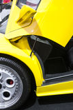 Sports car scissors door Royalty Free Stock Photography