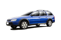 Sports car SUV. From a series of sports cars with clipping paths Royalty Free Stock Photography