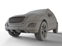 Sports car SUV Stock Images