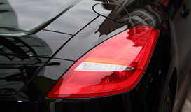Sports Car tail light. A modern car's tail light Royalty Free Stock Image