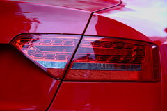 Sports Car tail light. Royalty Free Stock Photo