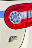 Sports car tail light Stock Images