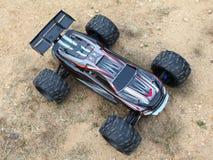 Sports car toy Stock Photos