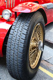 Sports Car Tyre Stock Images