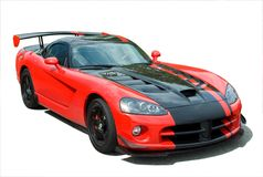 Sports Car Viper Royalty Free Stock Photo