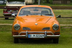 Sports car Volkswagen Karmann Ghia. Royalty Free Stock Images