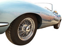 Sports car wheel Royalty Free Stock Photo
