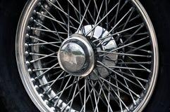 Sports car wheel Royalty Free Stock Photos