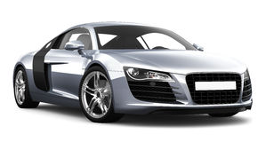 Sports car on white background Stock Photo