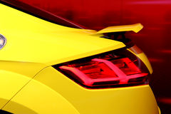 Sports Cars Backside Stock Images