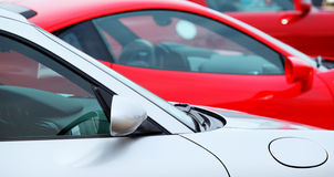 Sports cars Stock Image