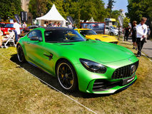 Sports Cars, Mercedes AMG GT R Royalty Free Stock Photography