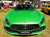 Sports Cars, Mercedes AMG GT R royalty free stock photos