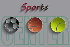 Sports Center Royalty Free Stock Image