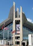 Sports center, Pristina, Kosovo royalty free stock photography