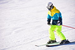 Sports chinois de ski Photo stock