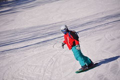 Sports chinois de ski Photos libres de droits