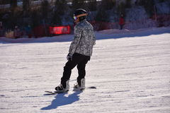 Sports chinois de ski Images libres de droits