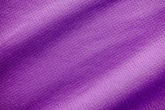 Sports clothing fabric jersey texture. Close up Stock Images