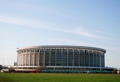 Sports complex stock images
