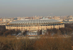 Sports complex Luzhniki Stock Image