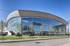 Sports complex SIBUR ARENA on Krestovsky island, St. Petersburg Stock Images