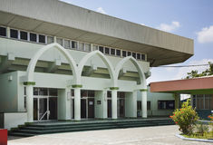 Sports Complex Social center in Male. Republic of the Maldives Stock Photo