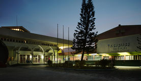 Sports Complex Social center in Male. Republic of the Maldives Stock Photos