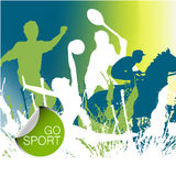 Sports concept Stock Image