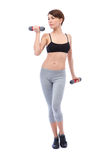 Sports concept for woman stock photos