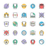 Sports Cool Vector Icons 5 Royalty Free Stock Photo