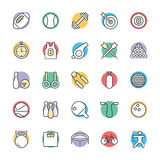 Sports Cool Vector Icons 1. Get ahead in the game with this Sports Vector Icon Pack! Included in this pack are s ranging from awards to soccer balls to Stock Images
