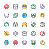 Sports Cool Vector Icons 2 Royalty Free Stock Photos