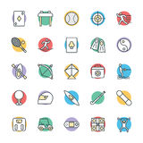 Sports Cool Vector Icons 3 Royalty Free Stock Photo