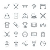 Sports Cool Vector Icons 5 Stock Photography