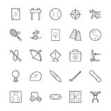 Sports Cool Vector Icons 3 Royalty Free Stock Images