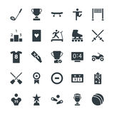 Sports Cool Vector Icons 5 Stock Photos