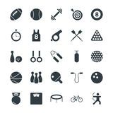 Sports Cool Vector Icons 1. Get ahead in the game with this Sports Vector Icon Pack! Included in this pack are s ranging from awards to soccer balls to Stock Photo