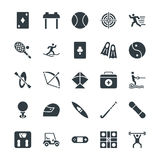 Sports Cool Vector Icons 3 Royalty Free Stock Photos