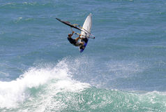 Sports d'action Windsurfing Photo stock