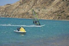 Sports d'eau Photos libres de droits