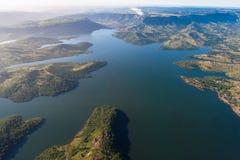 Sports d'eau de barrage d'air   Photographie stock