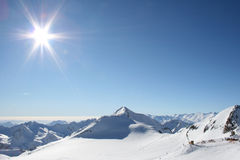 Sports d'hiver Photo libre de droits