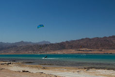 Sports in Dahab of Egypt Stock Image