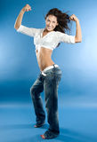 Sports dance Stock Images