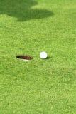 Sports de golf Photographie stock libre de droits