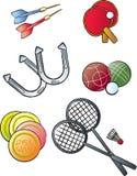 Sports de loisirs illustration de vecteur