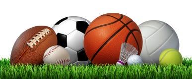 Sports de loisirs de récréation illustration libre de droits