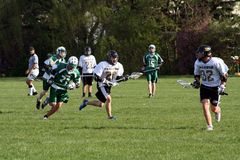 Sports de lycée Image libre de droits