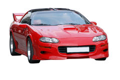 sports de rouge de véhicule Photographie stock libre de droits